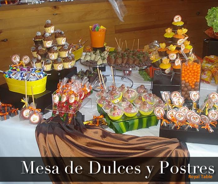 Mesa de dulces salados imagui - Postres para mesa de dulces ...